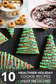 10 Healthier Holiday Cookie Recipes Under 135 Calories