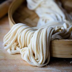 Homemade noodles - may give this a try at some point