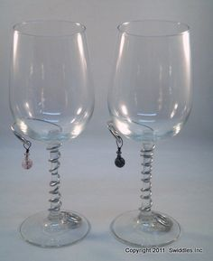 Wire Wrapped Wine Glass by swidmom on Etsy, $15.00