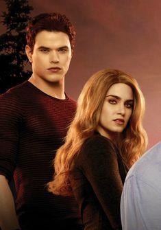 Emmett and Rosalie! Twilight Poster, Twilight Edward, Twilight Breaking Dawn, Twilight New Moon, Twilight Pictures, Twilight Series, Twilight Movie, Rosalie Hale, Nikki Reed
