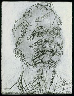by Frank Auerbach pencil and graphite © Frank Auerbach / Marlborough Fine Art (London) Ltd / National Portrait Gallery, London Frank Auerbach, Inspiration Art, Art Inspo, Life Drawing, Painting & Drawing, Painting Prints, Self Portrait Drawing, Figurative Kunst, Observational Drawing