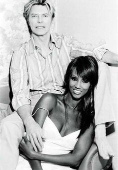 David Bowie+Iman
