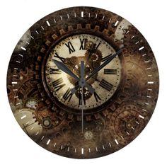 Vintage Steampunk Clocks