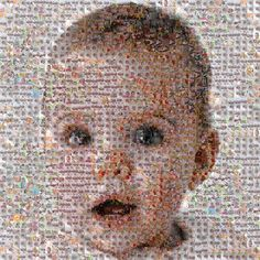 What a wonderful idea! Now why did't I think of that! We're intrigued by Andrew Miller's custom mosaic portraits, made up of tiny miniature photographs. Artist Miller, a young father, came up with the idea as a Mother's Day gift for his wife when he realized he had more than 1,000 images of their twin daughters on his hard drive. Clients provide images that are meaningful to them, making a wonderful showcase for memories. Fees start at $1,000; gift certificates are available.