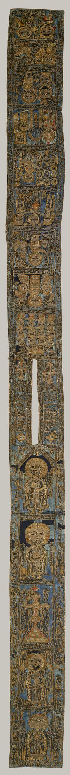 Batrashil, Mamluk period (1250–1517), 1336 Syria Silk backed with heavy linen Metropolitan Museum
