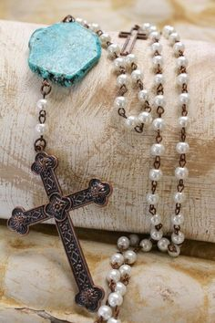 Albuquerque Cross Necklace
