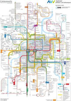 Mannheim transport map Maps Pinterest Mannheim Public