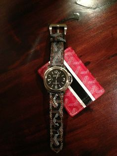 Custom Goyard Watch Strap #panerai #goyard #custom