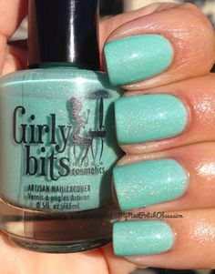 My Nail Polish Obsession: Girly Bits Off The Scale & enJOYmint