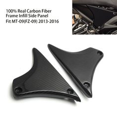 97.89$  Watch now - http://alixj3.worldwells.pw/go.php?t=32767912477 - For Yamaha MT-09 FZ 09 Real Carbon Fiber Frame Infill Side Cover Panel Fairing For YAMAHA MT09 FZ09 2014 2015 2016 MT FZ 09 97.89$