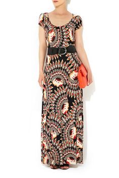 Maxis are great for summer - I especially like the cap sleeves and cute orange/black pattern.