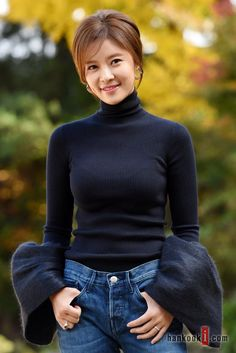 This wouldn't be giving her much of a honeymoon, but Hwang Jung-eum always seemed like the kind of actress who couldn't stay away from acting for too long: She's currently in consideration to star in an upcoming MBC drama that has me excited, a webtoon adaptation called Lucky Romance. (Perhaps it would be more accurate …
