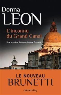 L'Inconnu du grand canal de Donna Leon  BIBLIO