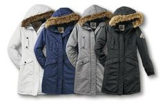 Beaver Canoe Parka from Target Canada - i think i like this! in blue!
