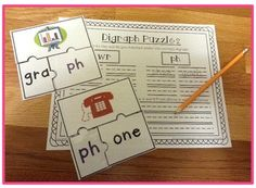 This digraph resource pack includes three fun and engaging activities to help your students practice spelling and building words with beginning and ending digraphs ph, ng, kn, and wr. The activities focus on CCVC, CVCC, and CCVCe words and work well as center activities for first and second graders. $
