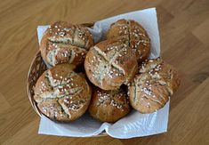 Slovak Recipes, Baby Food Recipes, Muffin, Food And Drink, Yummy Food, Bread, Baking, Breakfast, Fitness