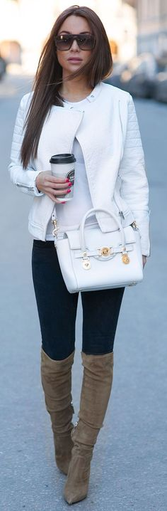 Fitted Chic Winter Outfit