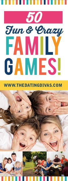 This is an incredible resource of fun family games you can play ANYWHERE. Let the fun begin! www.TheDatingDivas.com