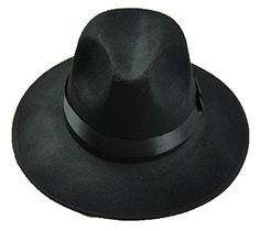ELENKER™ Bowler Floppy Cloche Bowknot Felt Fedora Style Hat Black - http://todays-shopping.xyz/2016/05/30/elenker-bowler-floppy-cloche-bowknot-felt-fedora-style-hat-black/