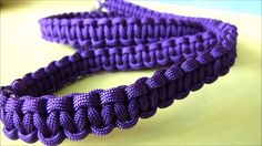 How to make a paracord cobra weave dog leash easy tutorial Paracord Dog Leash, Rope Dog Leash, Cobra Weave, Rope Clamp, Paracord Projects, Paracord Ideas, Collar And Leash, Dog Collars, Sliding Knot