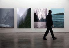 Gif: Gottfried Helnwein©    #gif #art #bitácoranómada #creemosenelasombro