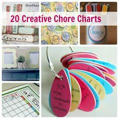 Happy Helpers: 20 Creative Chore Charts for Kids | Spoonful