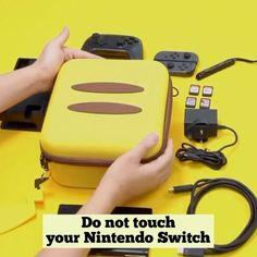 Pikachu travel bag for Nintendo Switch Nintendo Switch Accessories, Gaming Accessories, Switch Nintendo, Nintendo Lite, Control Nintendo, Star Citizen, Libro Gravity Falls, Pikachu, Mundo Dos Games