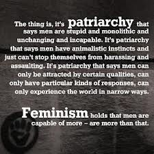 The thing is, it's patriarchy that says men are stupid and monolithic and unchanging and incapable. It's patriarchy that says men have animalistic instincts and just can't stop themselves from. The Thing Is, Thing 1, Françoise Sagan, Misandry, Smash The Patriarchy, Hate Men, Intersectional Feminism, Social Justice, Strong Women