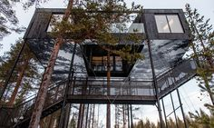 Новая хижина Treehotel от бюро Snøhetta