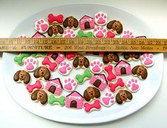 Mini Puppy Cookies (SugarBelle)
