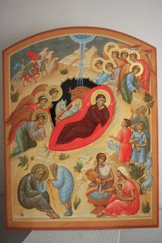 Scene, Painting, Byzantine Icons, Painting Art, Paintings, Painted Canvas, Drawings, Stage