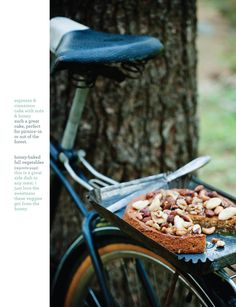 Sweet Paul Magazine - Fall 2011 - Food from the Forest {Expresso Cinnamon Cake with Honey and Nuts} Espresso Cake, Great Recipes, Favorite Recipes, Cooking Photos, Cooking Tips, Sweet Paul, Baking With Honey, Cinnamon Cake, Fall Vegetables