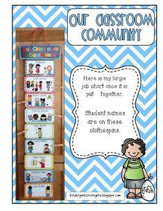 Kindergarten Crayons - Great way to display class jobs My Favorite! Kindergarten Crayons, Kindergarten Classroom Setup, Classroom Charts, Classroom Jobs, 3rd Grade Classroom, Classroom Organisation, Classroom Management, Class Management, Future Classroom
