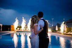 Magic night #fireworks #love #bride #groom #weddingday | @AliceCoppola Photographer