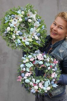 wianki wiosenne i wielkanocne z pracowni tenDOM Easter Wreaths, Holiday Wreaths, Christmas Decorations, After Christmas, Easter Holidays, Diy Wreath, Spring Crafts, Easter Crafts, Easter Eggs
