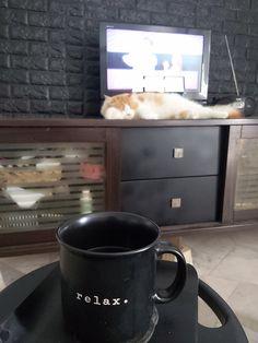 Black Coffee Mug, Coffee Mugs, Tableware, Dinnerware, Coffee Cups, Tablewares, Dishes, Place Settings, Coffeecup