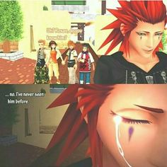 OH MY GOD THIS IS THE SADDEST THING I HAVE EVER SEEN. MY FEELS ARE BLOWING UP INSIDE ME. And roxas is holding hands with olette!!!! What the heck?? No!!