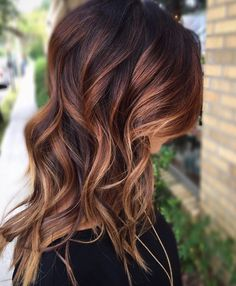 Love this time of year! Hair color