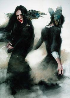 Ilustración en acuarela que raya el virtuosismo, Dima Rebus