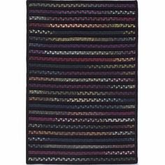 Colonial Mills TG45 Tailgate Black/Multi Rug Rug Size: 11' x 14' by Colonial Mills. $803.00. TG45R132X168S Rug Size: 11' x 14' Features: -Technique: Braided / Cablelock.-Material: 60pct Polypropylene/40pct Nylon.-Origin: United States.-Alternating solid and space dye rugs.-Reversible for twice the wear.-Fade Resistant.-Durable. Construction: -Construction: Handmade. Dimensions: -Pile height: 0.5''.-Overall Dimensions: 34-168'' Height x 22-132'' Width. Collection: -Col...