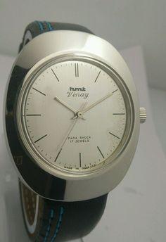 HMT Vinay Mechanical Silver Dial 17 Jewels Men s wrist watch Vintage Collectible