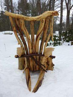 Adirondack chair by Steve Doe. www.whittenhillstudio.com