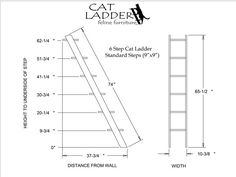 6 Step Ladders. Starting at