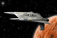 Buck Rogers-- one of the cooler space ship designs