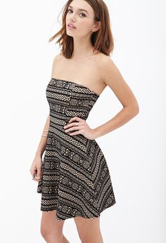 Tribal-Inspired A-Line Dress | Forever 21 - 2000102976