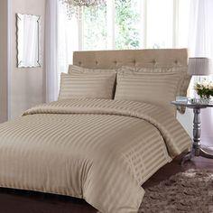minkLuxury Stripe Duvet Cover