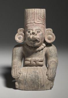 Urn Figure, c. 200-500 Mexico, Oaxaca, Zapotec