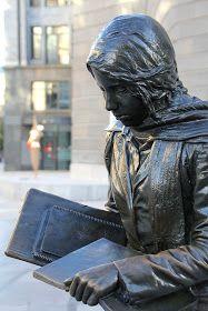 Esculturas de Oviedo. David al día: Oviedo bronceada