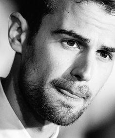 Theo James.....oh man those lips. He's beautiful. ❤️