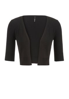 the cropped cardi